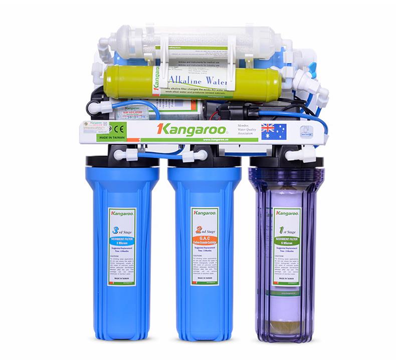 Máy lọc nước Kangaroo KG104–7 lõi không tủ