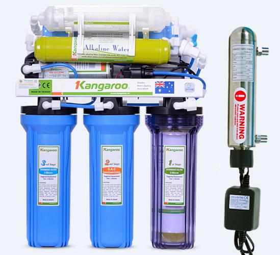 Máy lọc nước Kangaroo-KG109-9 lõi không tủ